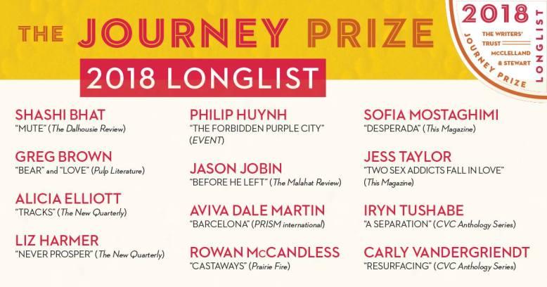 Journey Prize 2